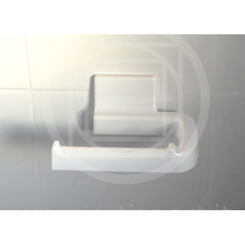 Arredamento spogliatoio porta rotolo carta igenica da parete - Porta carta igienica design ...