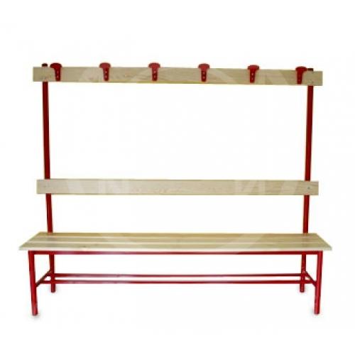 Panchina completa per spogliatoio metri 2