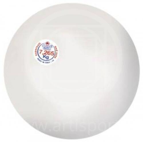Palla in gomma anelastica per lancio del peso, kg 7,26