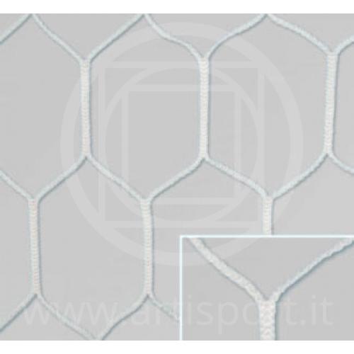 Reti per porte da calcio rete esagonale modello inglese - Rete porta da calcio ...