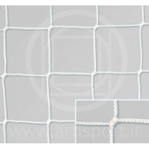 Rete in propilene per porta calcio 6x2 m
