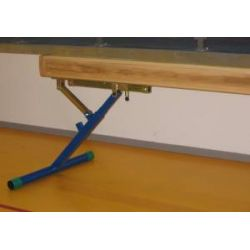 Balance axle, beam, parallel bars