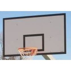 Basketball rims, backboards
