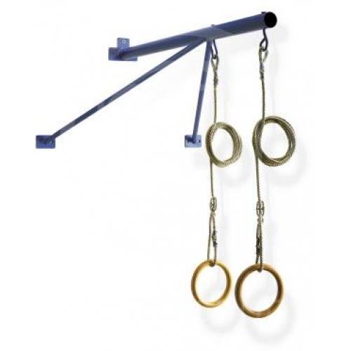 Mensola per sospensione anelli acciaio