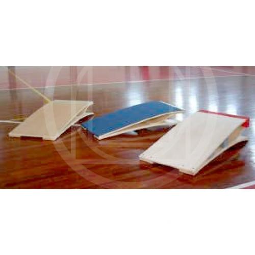 Pedana elastica con rivestimento in gomma per esercizi di for Gomma per rivestimento scale