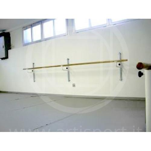 Mensole A Parete Regolabili In Altezza.Mensola Supporto Sbarra Da Danza Classica Artisport