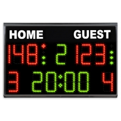 elektronische Anzeigetafel Basketball-Volleyball-Fussball