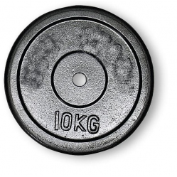 Hantelscheibe aus Gusseisen kg 10