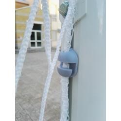 Hakenverschluss zur Netzbefestigung