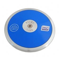 Diskus aus Nylon mit Eisenring kg 1gemäß IAAF Regularien