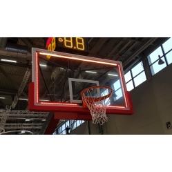leuchtender Rahmen für Basketballzielbrett