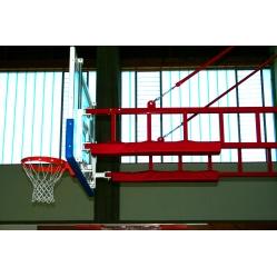 Schutzvorrichtung für Basketballanlagen