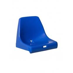 Sitz mit Rückenlehnen für Tribüne