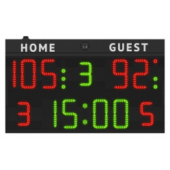 elektronische Anzeigetafel Multisport