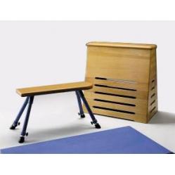 Sprungkasten für Gymnastik