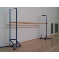 horizontale transportable Leiter