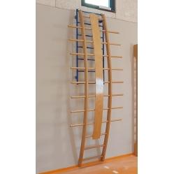gebogene orthopädische Leiter