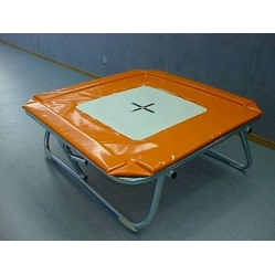 elastisches Trampolin Abmessung cm 113x113