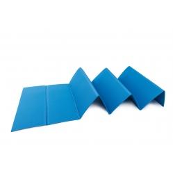 faltbare Gymnastikmatte aus Polyethylen, Abmessung cm 180x50x0,8h