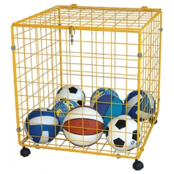 Ballbehälter Abmessung cm 70x70x70