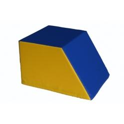 Kissen aus Schaugummi, trapezförmig, Abmessungen cm 40x50x30