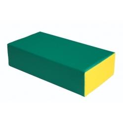 Kissen aus Schaugummi, rechteckig, Abmessungen cm 60x30x15