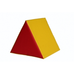 Kissen aus Schaugummi in Dreiecksform