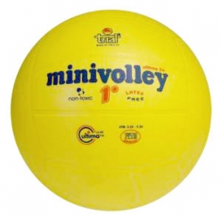 Minivolleyball aus Gummi