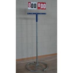 Anzeigetafel für Basketball