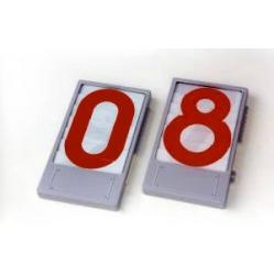 rote Nummernanzeige