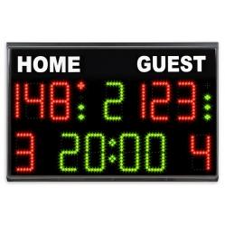 Electronic scoreboard basket-volley-futsal