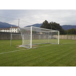 Football goals with poles detached 7.32x2.44 m, TUV CERTIFICATE ACCORDING TO UNI EN 748