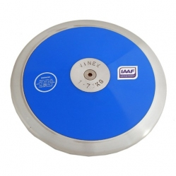 Plastic discus with steel ring kg. 1,75 in according to IAAF regulations
