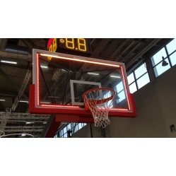 Perimeter Light for basketball backboards