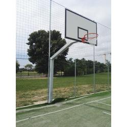 Monotubing basketball facility overhang 220 cm