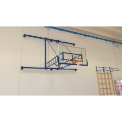 Wall mounted  basketball facility  F.I.B.A. APPROVED