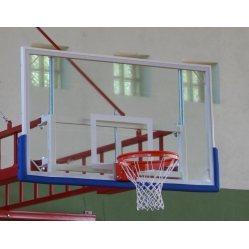 Plexiglass basketball backboard