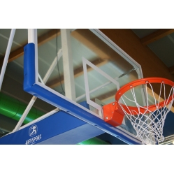 Polyurethane basketball backboard protection