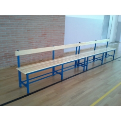 Basket coach bench