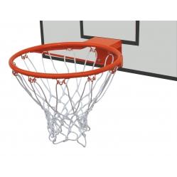 Reinforced basketball hoop