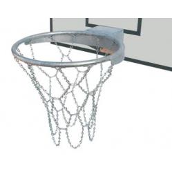 Zinced steel basketball net