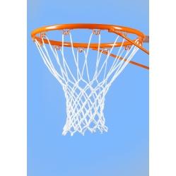Basketball net in heavy nylon