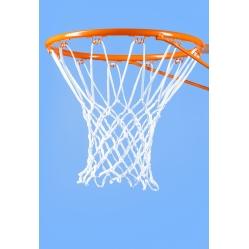 Basketball rim net
