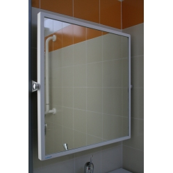 Wall mirror for disabled people