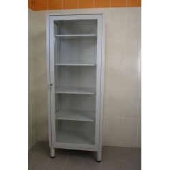 Glass cabinet for first aid