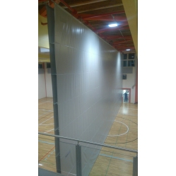 Playcourts dividing curtain