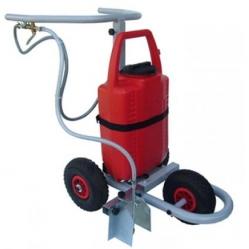 Spray field-marking trolley