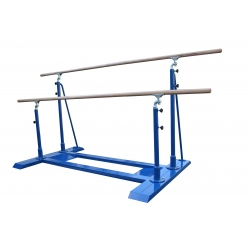 Woman parallel bars