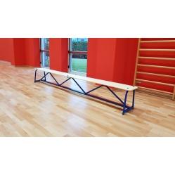 Gymnastics flat bench