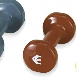 Cast iron dumbbell 1 kg